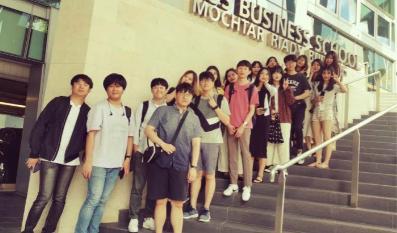 2019학년도 2학기 한-싱 보건의료 글로벌인턴십 및 창업스쿨 운영3